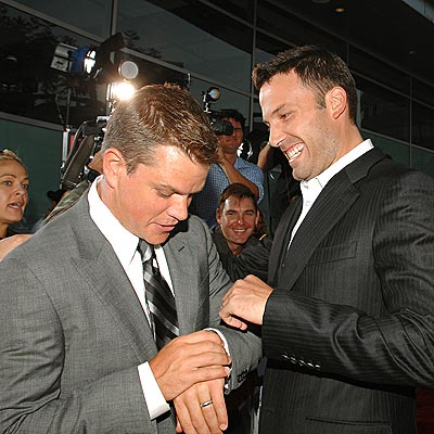 'BOURNE' TO BE BESTIES photo | Ben Affleck, Matt Damon