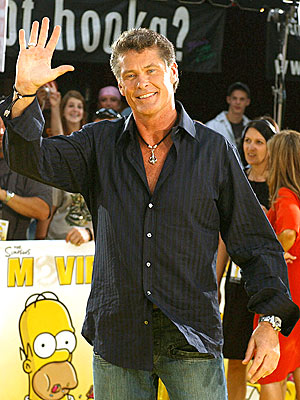 LIVE ACTION STAR photo | David Hasselhoff