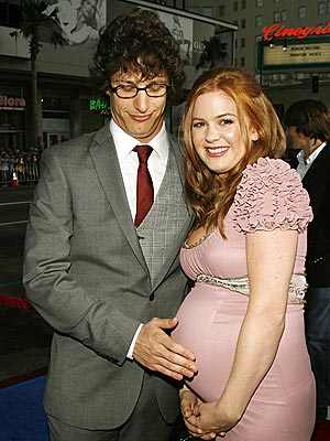 A TOUCHING MOMENT photo | Andy Samberg, Isla Fisher