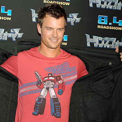 HIS BIG REVEAL photo | Josh Duhamel