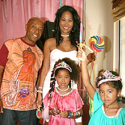 A FAMILY AFFAIR  photo | Kimora Lee Simmons, Russell Simmons