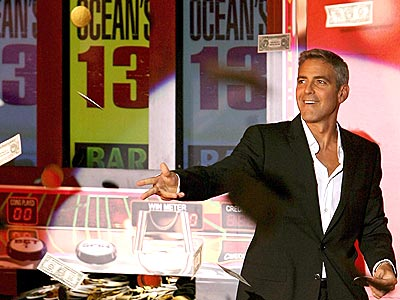 IT'S A TOSS-UP photo | George Clooney
