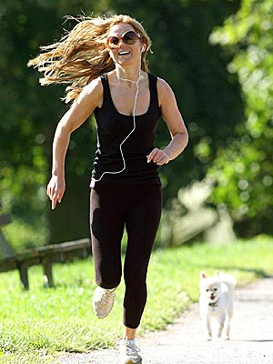 SPRINT TO ACTION photo | Geri Halliwell