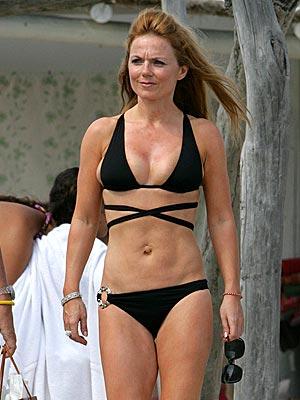 Geri Halliwell In Bikini