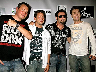 BOYS TO MEN photo | Chris Kirkpatrick, Jeff Timmons, Lance Bass, Rich Cronin