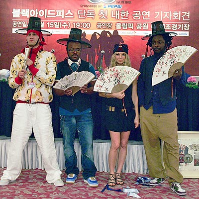 SOUL TO SEOUL photo | Black Eyed Peas, Fergie