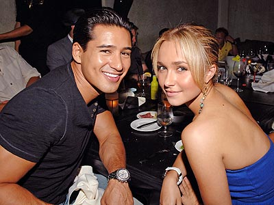 DINERS CLUB photo | Hayden Panettiere, Mario Lopez