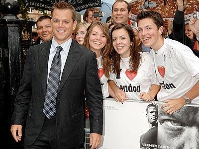 MAKING NEW FRIENDS photo | Matt Damon