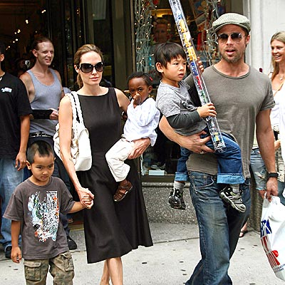 angelina jolie daughter. Angelina Jolie, Brad Pitt