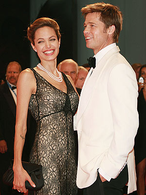 Dressed To Kill photo | Angelina Jolie, Brad Pitt