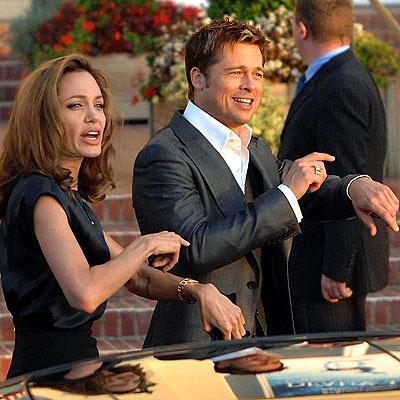 IN SYNC photo | Angelina Jolie, Brad Pitt
