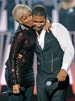 2007 - SHOWSTOPPERS - Star Tracks, Mary J. Blige, Usher : People.com