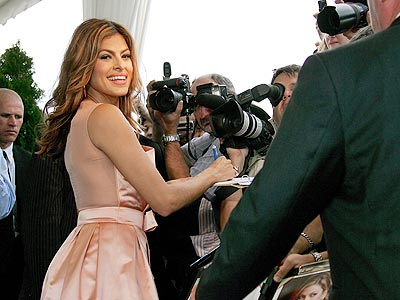 MEET THE PRESS photo | Eva Mendes