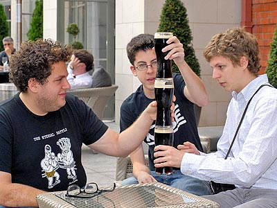 A TOAST! photo | Jonah Hill, Michael Cera