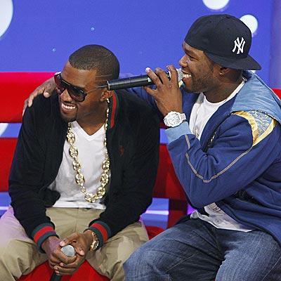 BEST BUDS? photo   50 Cent, Kanye West