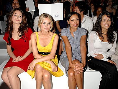 TOMMY'S GIRLS photo | Diane Kruger, Emmy Rossum, Michelle Rodriguez, Rosario Dawson