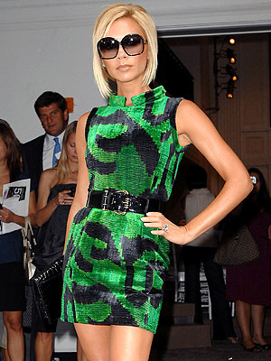 GREEN WITH ENVY photo | Victoria Beckham