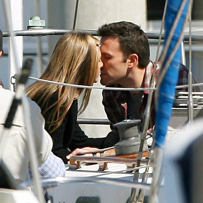 THREE TIMES A LADY photo | Ben Affleck, Jennifer Aniston