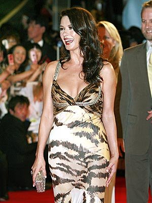CHEETAH GIRL photo | Catherine Zeta-Jones