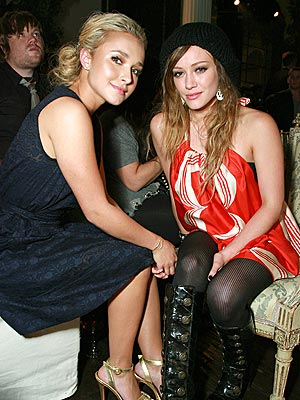 HOLLYWOOD ROYALTY  photo | Hayden Panettiere, Hilary Duff