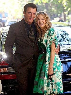 BIG CITY REUNION photo | Chris Noth, Sarah Jessica Parker