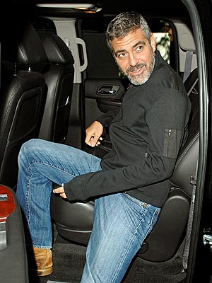 BACK SEAT DRIVER photo | George Clooney