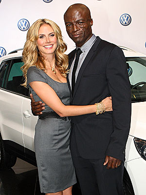 heidi klum and seal. WILLKOMMEN! photo | Heidi Klum