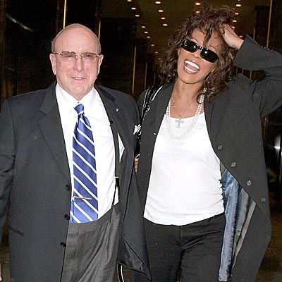 COMEBACK COMING? photo | Clive Davis, Whitney Houston