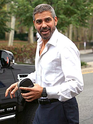 WELL HEALED  photo | George Clooney