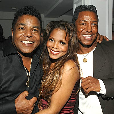 JACKSON THREE photo | Janet Jackson, Jermaine Jackson, Tito Jackson