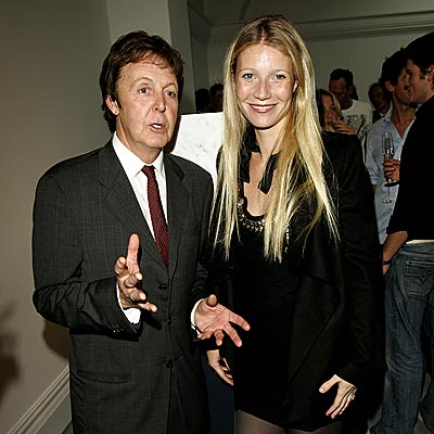A HARD DAY'S NIGHT photo | Gwyneth Paltrow, Paul McCartney