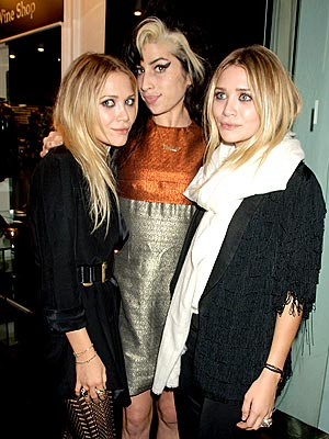 U.S.-U.K. RELATIONS photo | Amy Winehouse, Ashley Olsen, Mary-Kate Olsen
