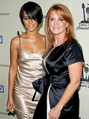 FAST FRIENDS photo | Rihanna, Sarah Ferguson
