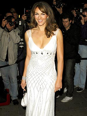WHITE NIGHT photo | Elizabeth Hurley