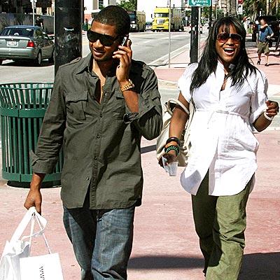 STOCKING UP photo   Usher