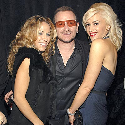 MUSICAL TRIO photo | Bono, Gwen Stefani, Sheryl Crow