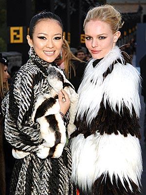 BLACK AND WHITE  photo | Kate Bosworth, Ziyi Zhang