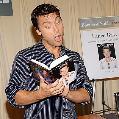 HIS A-HA MOMENT? photo | Lance Bass