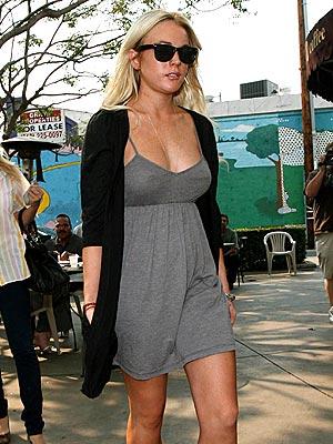 PIZZA PARTY photo | Lindsay Lohan