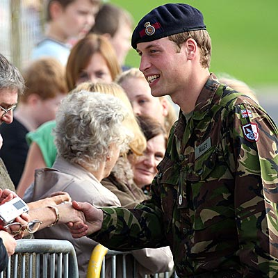 ROYAL GREETING photo | Prince William