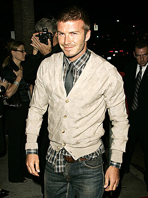 SHABBY CHIC photo | David Beckham