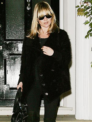 SHAGGY CHIC photo | Kate Moss