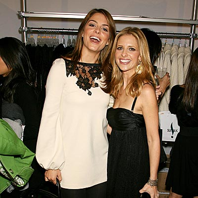 FEELING 'LUCKY' photo | Maria Menounos, Sarah Michelle Gellar
