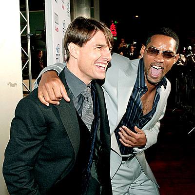 Photo of Tom Cruise & his friend actor  Will Smith - Hollywood
