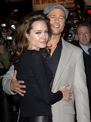 LONDON HEAT photo | Angelina Jolie, Brad Pitt