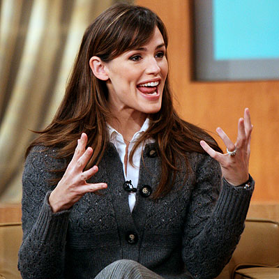 MEANINGFUL GESTURE photo | Jennifer Garner