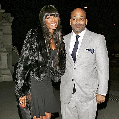DASH-ING PAIR photo | Damon Dash, Naomi Campbell