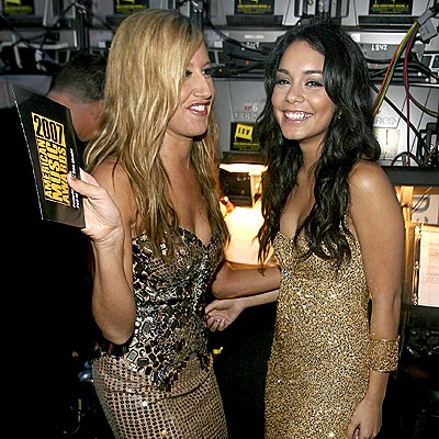 ashley tisdale and vanessa hudgens. Tisdale, Vanessa Hudgens