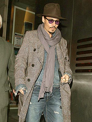 HOLIDAY SHOPPER photo | Johnny Depp