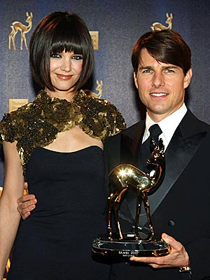 A BANG-UP JOB photo | Katie Holmes, Tom Cruise